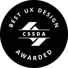 best ux desin CSSDA Award