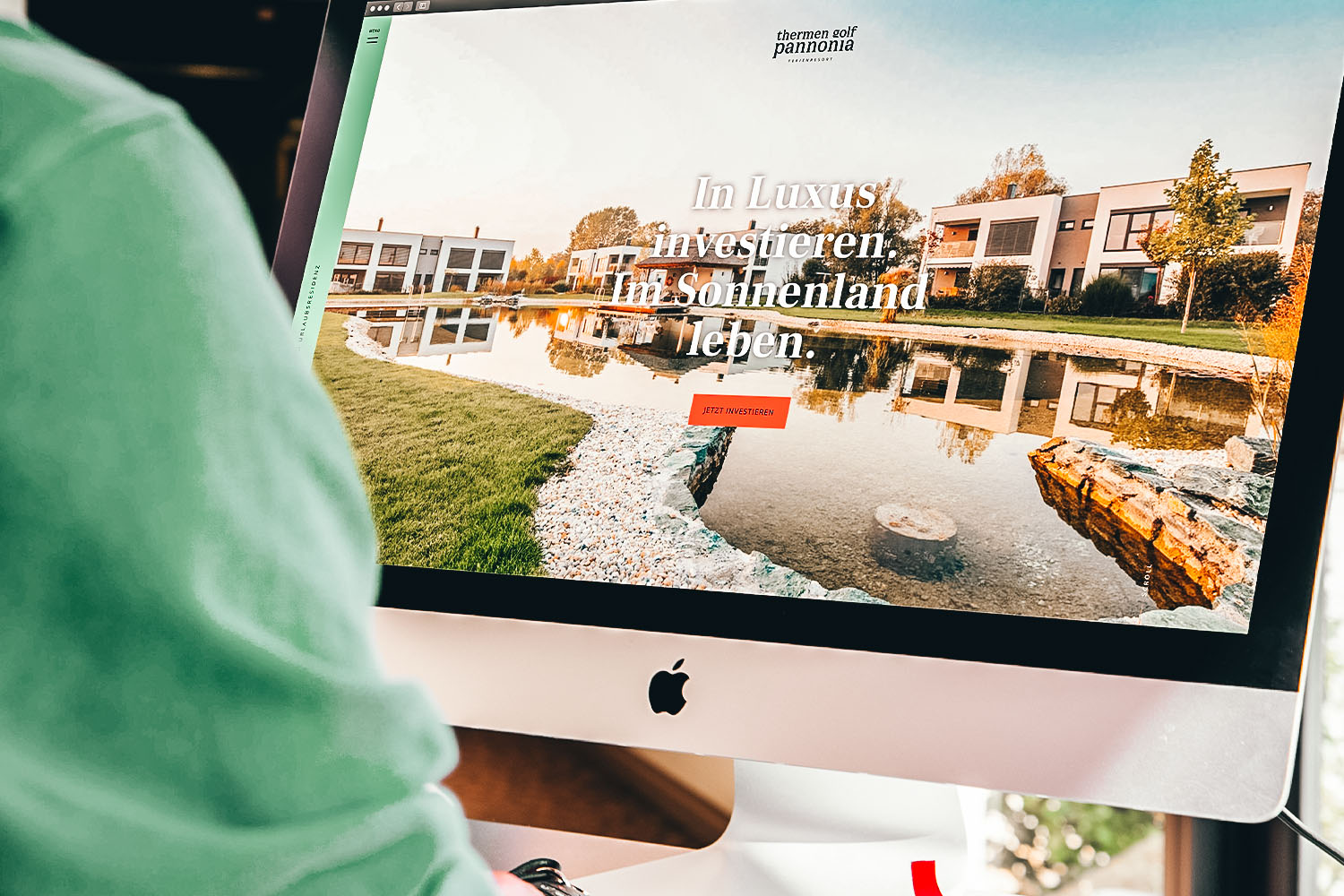 Corporate Design Relaunch Ferienresort Thermen Golf Pannonia © KWER